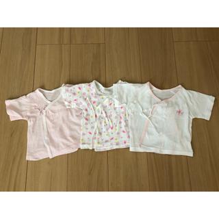 ニシマツヤ(西松屋)の新生児用 肌着 (肌着/下着)