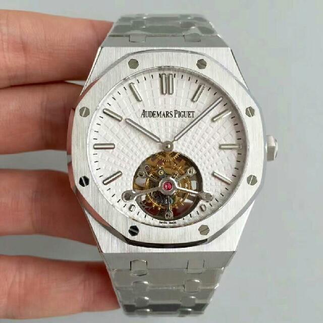 ブライトリング偽物文字盤交換 | AUDEMARS PIGUET - Audemars Piguet メンズ 自動巻き 腕時計 の通販 by mua|オーデマピゲならラクマ