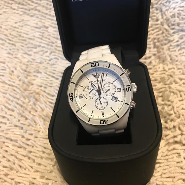 ブライトリング 時計 スーパー コピー a級品 、 Emporio Armani - ARMANI クロノグラフ デイトの通販 by dato商店|エンポリオアルマーニならラクマ