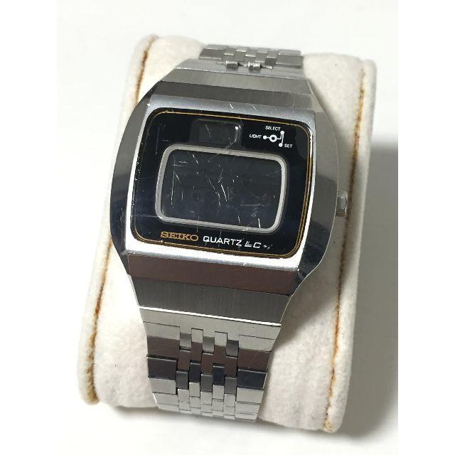 シーマスター / SEIKO - SEIKO/セイコー LC デジタル腕時計 0114-0020 ジャンク扱い品の通販 by GHOSTQUEEN's shop|セイコーならラクマ