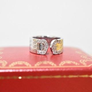 カルティエ(Cartier)のカルティエ C2リング 2000年 クリスマス限定 ダイヤ #49(リング(指輪))