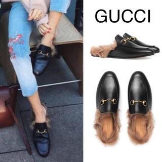 3bba3d0ff92a グッチ(Gucci)のGUCCI プリンスタウン 38(ローファー/革靴)