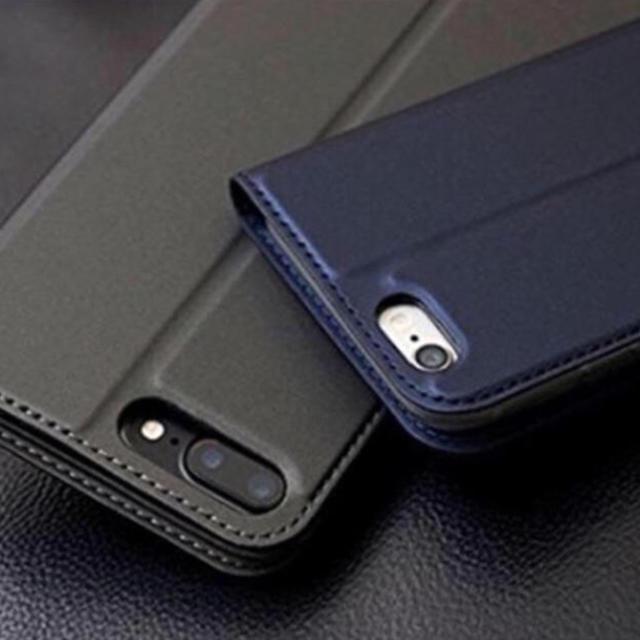 iphone6 カバー 高級 - (人気商品) iphone&Xperia他 対応 手帳型ケース (5色) 新品の通販 by プーさん☆|ラクマ