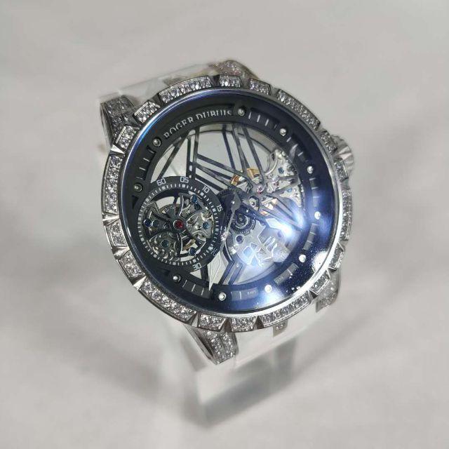 クロノスイス 時計 スーパー コピー 評判 / ROGER DUBUIS - ロジェデュブイ メンズファッション 自動巻き 腕時計 新品の通販 by xsw16's shop|ロジェデュブイならラクマ