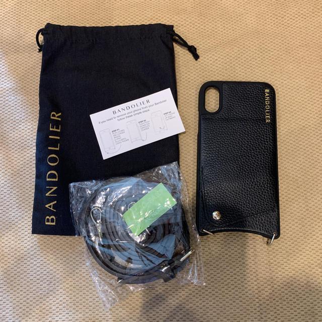 Bandolier バンドリヤー  iPhone XR ストラップ付きの通販 by 香港ディズニー|ラクマ