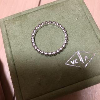 ヴァンクリーフアンドアーペル(Van Cleef & Arpels)のヴァンクリーフ ペルレ 指輪 ミディアムモデル 61 750(リング(指輪))