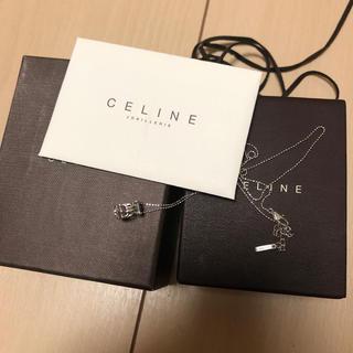 セリーヌ(celine)のセリーヌ ネックレス 750 ホワイトゴールド リング(ネックレス)