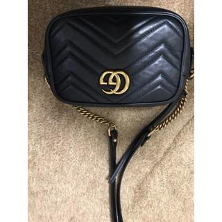 9c1b084895f7 グッチ(Gucci)のGucci GG付き ブラックハードウェア ショルダーバッグ(ショルダーバッグ