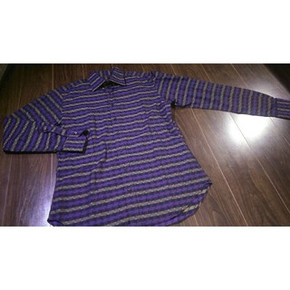エトロ(ETRO)の美品/ETRO/エトロ/チェック/シャツ/ドレスシャツ/総柄/ブロック(シャツ)