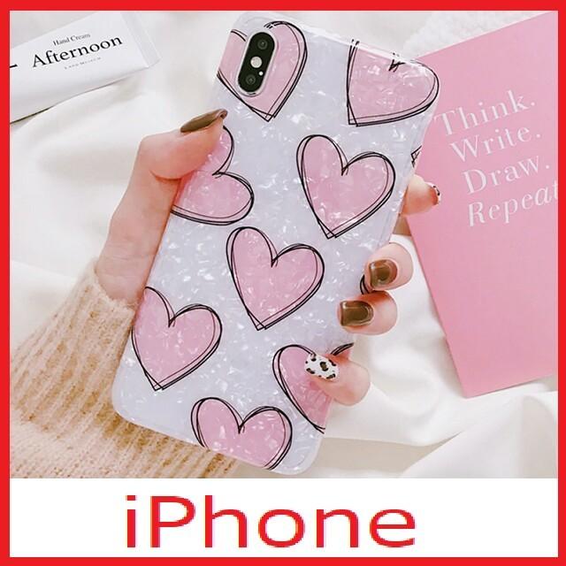 iphone7 ケース アリエル 、 iPhoneケース ハート柄♪の通販 by F's shop|ラクマ