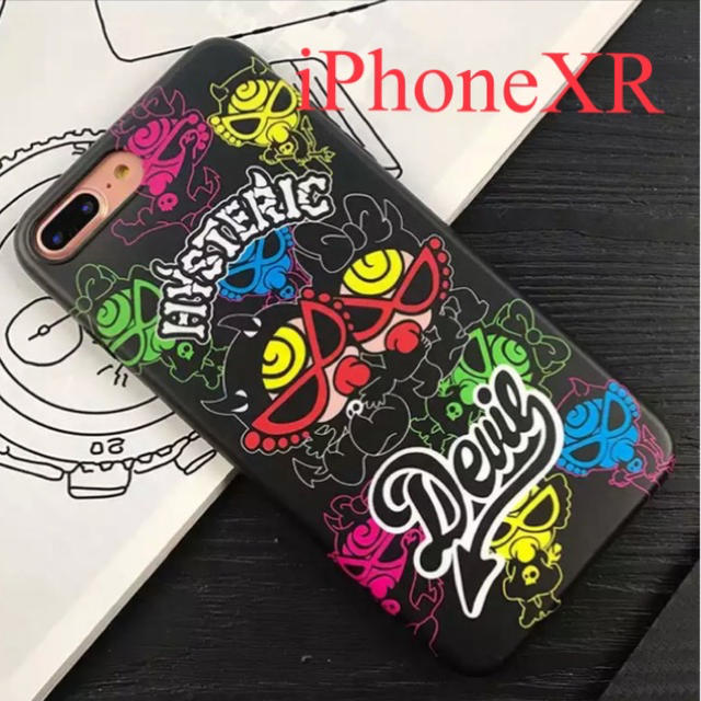 HYSTERIC MINI - iPhone  XR ヒスミニ  ソフトケース  新品   黒の通販 by ukoyu's shop|ヒステリックミニならラクマ