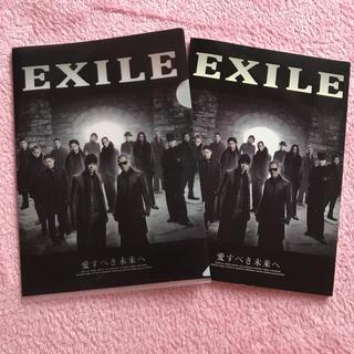 エグザイル(EXILE)のEXILE♡非売品♡ノート♡クリアファイル(男性タレント)