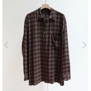 コモリ(COMOLI)のcomoli レーヨンオープンカラーシャツ(シャツ)