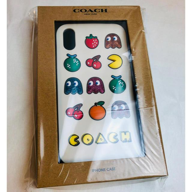 iphone 8 ケース ミッフィー | COACH - コーチ アイフォンケース iPhone XR パックマン コラボ商品の通販 by chouchou|コーチならラクマ