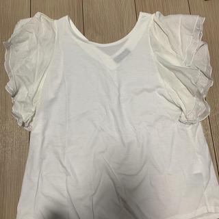 ナノユニバース(nano・universe)のナノユニバース 袖フリル Tシャツ(Tシャツ(半袖/袖なし))