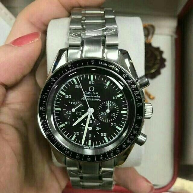 OMEGA - オメガ OMEGA スピードマスター デイト ブランド腕時計の通販 by ぐつぁ's shop|オメガならラクマ