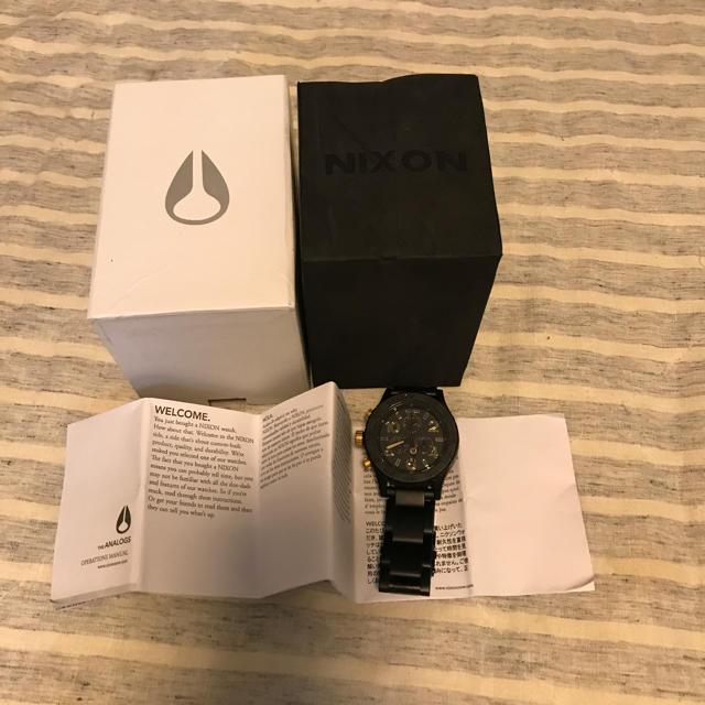 ロレックス デイトナ 白 - NIXON - 腕時計 Nixonの通販 by はるか's shop|ニクソンならラクマ