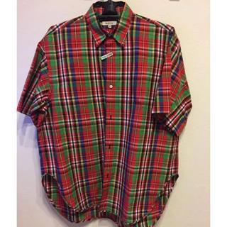 ドゥロワー(Drawer)のBLAMINK(ブラミンク ) マドラスチェックの半袖シャツ(Tシャツ(半袖/袖なし))