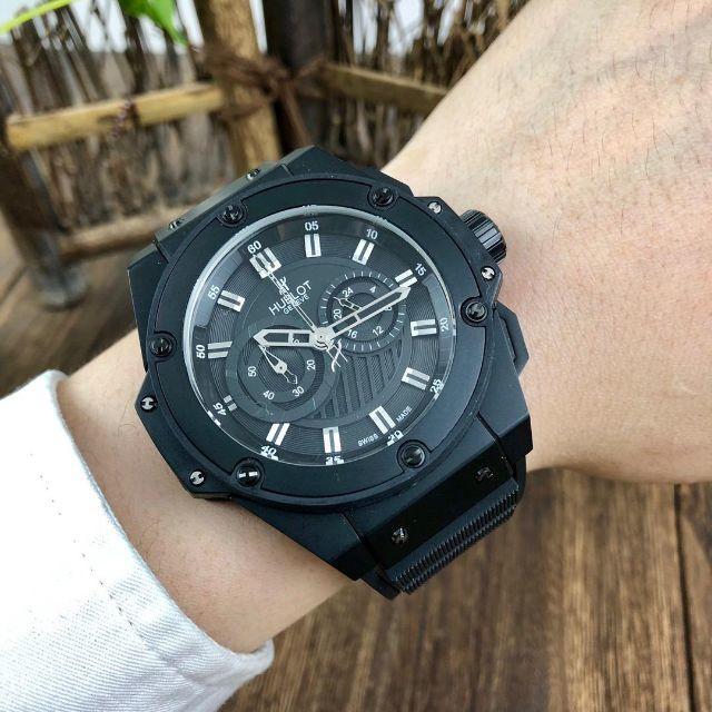 スーパー コピー クロノスイス 時計 新作が入荷 | メンズ 防水 ウ/ブ/ロ ブラック HU*BLO/T 腕時計 自動巻き の通販 by poilor's shop|ラクマ
