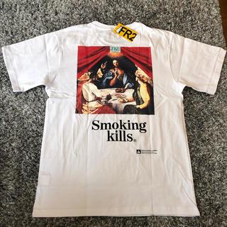 ヴァンキッシュ(VANQUISH)のFR2 smoking kills tシャツ 最後の晩餐 M(Tシャツ/カットソー(半袖/袖なし))