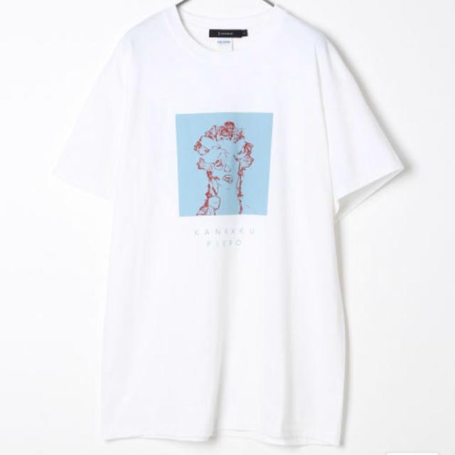 RAGEBLUE(レイジブルー)のTシャツ 感覚ピエロ RAGEBLUE コラボ イエロー ブラック ホワイト エンタメ/ホビーのタレントグッズ(ミュージシャン)の商品写真