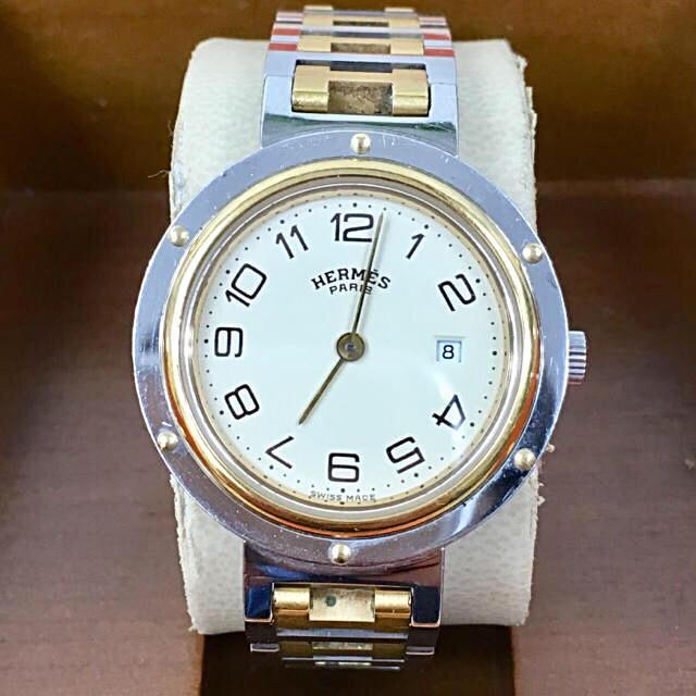 Hermes - 正規品 エルメス HERMES クリッパー ボーイズ腕時計の通販 by toshio's shop|エルメスならラクマ