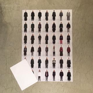 ラッドミュージシャン(LAD MUSICIAN)の【新品】ラッドミュージシャン  コレクションルックポスター 19AW 非売品(ネクタイ)