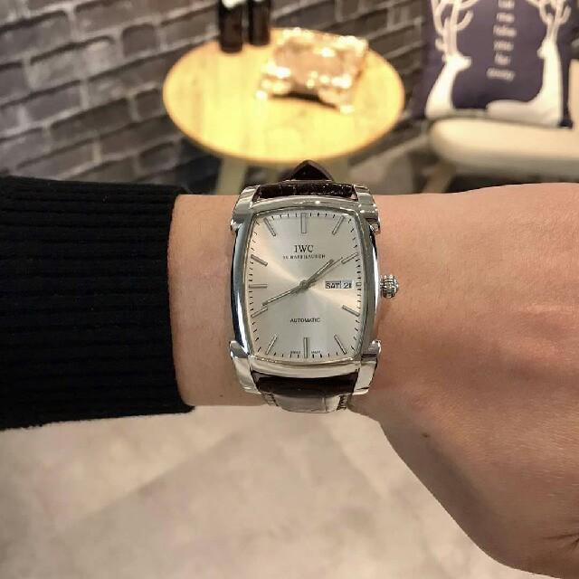 セイコー 腕時計 チタン - IWC - IWC   メンズ 腕時計  革ベルト の通販 by 戸田's shop|インターナショナルウォッチカンパニーならラクマ