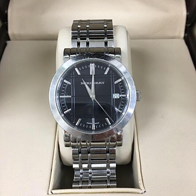 BURBERRY - 鑑定済み 正規品バーバリー Burberry 腕時計の通販 by toshio's shop|バーバリーならラクマ