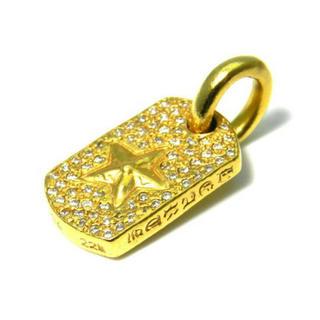 クロムハーツ(Chrome Hearts)の値段交渉)Chrome Hearts クロムハーツ ドッグタグ スター22k(ネックレス)