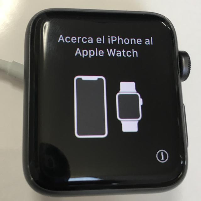 Apple Watch - apple watch series3 gps 42mm黒の通販 by とりのき's shop|アップルウォッチならラクマ