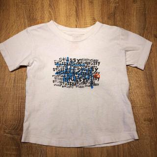 ステューシー(STUSSY)のstussy kids-BIG-100〜110相当ロゴTシャツ(Tシャツ/カットソー)