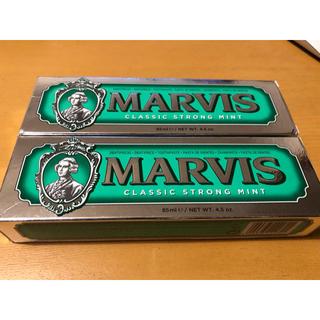 マービス(MARVIS)の【値下げ】Marvis 85ml 2本セット(歯磨き粉)