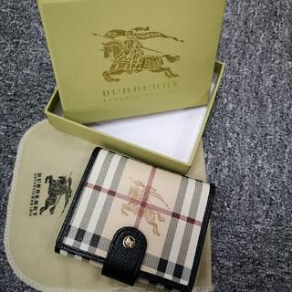 バーバリー(BURBERRY)のBURBERRY 三つ折り財布 短財布 バーバリー ユニセックス(折り財布)