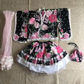ユメテンボウ(夢展望)の女の子浴衣ドレス110(甚平/浴衣)