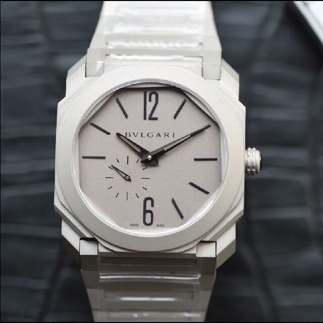 オリス コピー 直営店 | BVLGARI - ブルガリ オクト BG041S 裏スケ 自動巻ホワイトメンズ 腕時計の通販 by フミオ's shop|ブルガリならラクマ