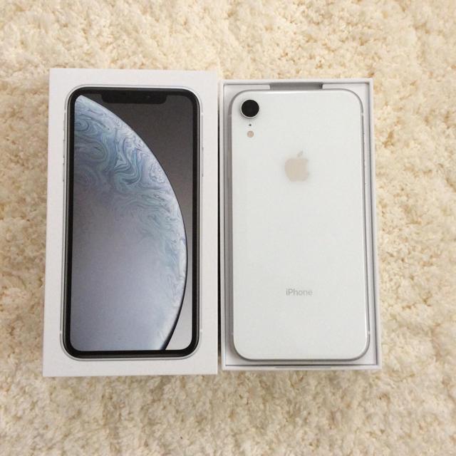 アイフォーンx カバー ルイヴィトン 、 iPhone - iPhone XR 128GB ホワイトの通販 by na_cha07's shop|アイフォーンならラクマ