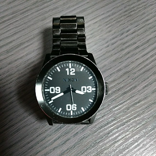 NIXON - NIXON ニクソン 腕時計  CORPORAL コーポラルの通販 by felix333's shop|ニクソンならラクマ