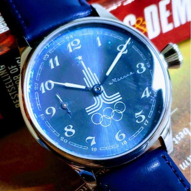 ロレックス オイスターデイト / Molnija(Молния) - ✩旧 ソ連製 オリンピック 1980年 モスクワ五輪 モルニヤ メンズ 腕時計の通販 by ベルデア's shop|モルニヤならラクマ