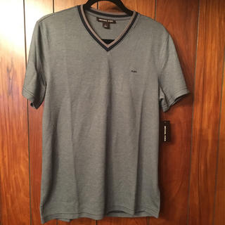 マイケルコース(Michael Kors)のマイケルコース メンズ 新品未使用 Tシャツ ネイビー系 タグ付き(Tシャツ/カットソー(半袖/袖なし))
