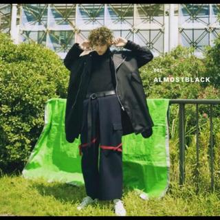ヨウジヤマモト(Yohji Yamamoto)のALMOSTBLACK 16AW military pants(ワークパンツ/カーゴパンツ)
