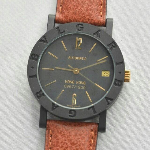 BVLGARI - ブルガリ BVLGARI 香港限定 自動巻き カーボン 腕時計の通販 by 武俊's shop|ブルガリならラクマ