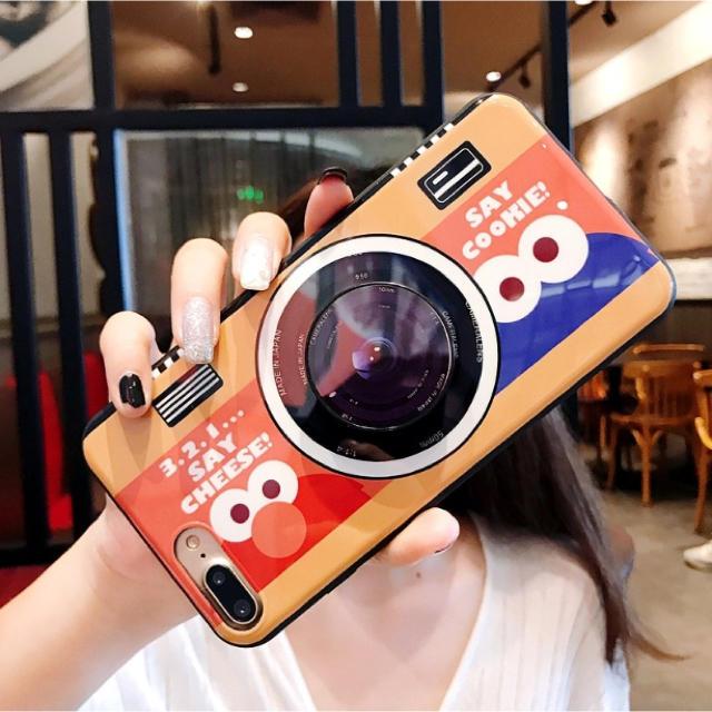 グッチ iphonexr ケース 海外 | SESAME STREET - 新着★可愛い エルモ iPhoneケース カメラ柄 シンプル の通販 by るり's shop|セサミストリートならラクマ