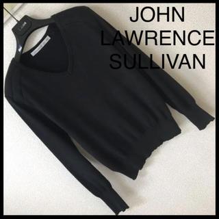 JOHN LAWRENCE SULLIVAN - ◆レア◆ジョンローレンスサリバン◆綿 ニット セーター パワーショルダー 36
