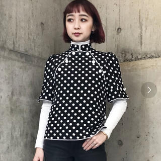 G.V.G.V. - 【G.V.G.V】HIGH NECK BLOUSE
