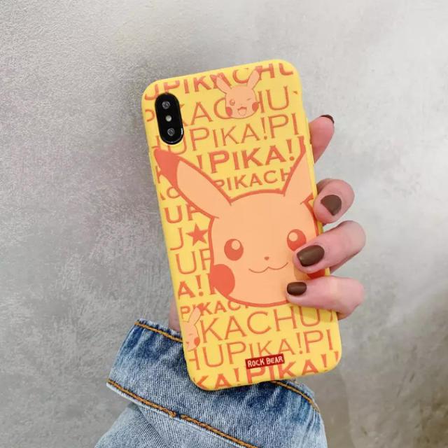 iphone7 丈夫 ケース / ポケモン - 大人気★ポケモン ピカチュウ シンプル 可愛い キャラクターの通販 by るり's shop|ポケモンならラクマ