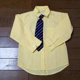 ニシマツヤ(西松屋)の子供 カッターシャツ サイズ100(ドレス/フォーマル)