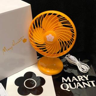 マリークワント(MARY QUANT)のMaryquant  ミニ扇風機(扇風機)