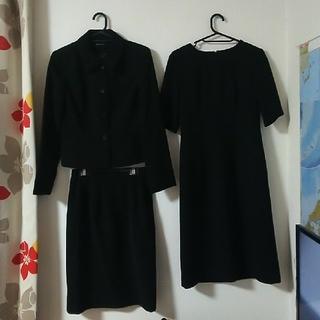 ニッセン(ニッセン)のブラックフォーマル三点セット(礼服/喪服)