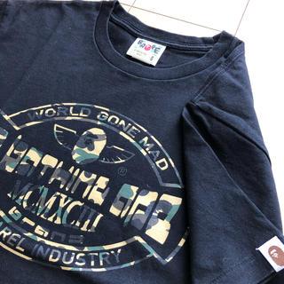 アベイシングエイプ(A BATHING APE)の美品 A BATHING APE アベイジングエイプ Tシャツ メンズ(Tシャツ/カットソー(半袖/袖なし))